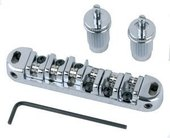 PARTSLAND E-GUITAR BRIDGE TUNE-O-MATIC STEG/SAITENHALTER