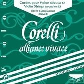 CORELLI VIOLIN STRINGS ALLIANCE VIVACE