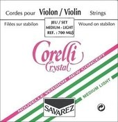 CORELLI VIOLIN STRINGS NEW CRYSTAL