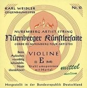 NÜRNBERGER VIOLIN STRINGS KUENSTLER STRAND CORE