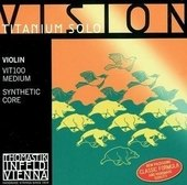 THOMASTIK-INFELD VIOLIN STRINGS VISION TITANIUM SOLO SYNTHETIC CORE