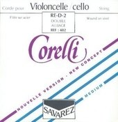 CORELLI CORDE PER CELLO STEEL
