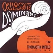 THOMASTIK-INFELD CELLO STRINGS DOMINANT NYLON CORE