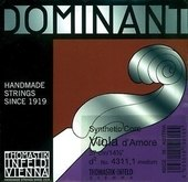 THOMASTIK STRINGS FOR VIOLA D'AMORE DOMINANT