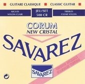 SAVAREZ STRINGS FOR CLASSIC GUITAR NEW CRISTAL CORUM 500 CR