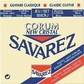 SAVAREZ STRINGS FOR CLASSIC GUITAR NEW CRISTAL CORUM 500CRJ MIXED
