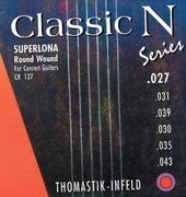 THOMASTIK-INFELD STRINGS FOR CLASSIC GUITAR CLASSIC N SERIES. SUPERLONA LIGHT
