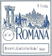 ROMANA STRINGS FOR BALALAIKA PRIM