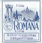 ROMANA STRINGS FOR WALDZITHER