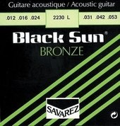 SAVAREZ STRINGS FOR ACOUSTIC GUITAR BLACK SUN BRONZE