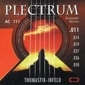 THOMASTIK INFELD THOMASTIK STRINGS FOR ACOUSTIC GUITAR PLECTRUM ACOUSTIC SERIES. NICKEL FREE