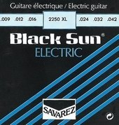 SAVAREZ STRINGS FOR ELECTRIC GUITAR BLACK SUN ROUND WIRE WOUND