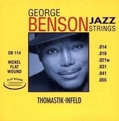 THOMASTIK INFELD THOMASTIK STRUNY E-KYTARU GEORGE BENSON JAZZ GUITAR