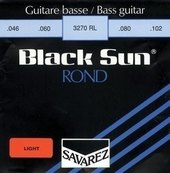SAVAREZ STRINGS FOR ELECTRIC BASS BLACK SUN NICKEL. ROUND WIRE
