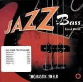 THOMASTIK INFELD STRINGS FOR ELECTRIC BASS JAZZ BASS SERIES NICKEL ROUND WOUND ROUNDCORE