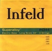 THOMASTIK-INFELD E-BASS STRINGS SUPERALLOY. ROUND WOUND LONG SCALE