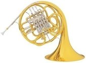 C.G. CONN DOUBLE FRENCH HORN 6D ARTIST
