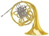 C.G. CONN DOUBLE FRENCH HORN 10D SYMPHONY