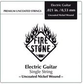 GEWA STRINGS FOR E-GUITAR FIRE&STONE SINGLE STRINGS NICKEL WOUND