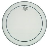 REMO DRUM HEAD PINSTRIPE WHITE COATED