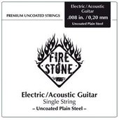 GEWA STRINGS FOR E-GUITAR FIRE&STONE SINGLE STRINGS