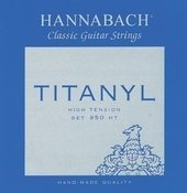 HANNABACH STRINGS FOR CLASSIC GUITAR SERIES 950 HIGH TENSION TITANYL