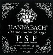 HANNABACH STRINGS FOR CLASSIC GUITAR SERIES 850 MEDIUM TENSION PSP
