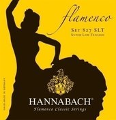 HANNABACH STRINGS FOR CLASSICAL GUITAR SERIES 827 SUPER LOW TENSION FLAMENCO