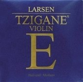 LARSEN VIOLIN STRINGS TZIGANE MULTIFILAMENT FIBRE CORE