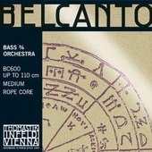 THOMASTIK-INFELD DOUBLE BASS STRINGS BELCANTO ROPE CORE