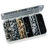 SCHALLER SECURITY LOCK BUTTON/SCREW KIT