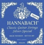 HANNABACH STRINGS FOR CLASSIC GUITAR SERIE 815 HIG TENSION FOR 8/10 STRING GUITAR SILVER SPECIAL