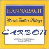 HANNABACH KLASSISEN KITARAN KIELET CARBON MEDIUM/HIGH TENSION DISCANT