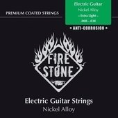 GEWA STRINGS FOR E-GUITAR FIRE&STONE NICKEL ALLOY COATED