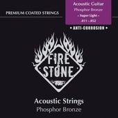 GEWA STRINGS FOR ACOUSTIC GUITAR FIRE&STONE SET PHOSPHOR BRONZE