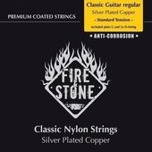 GEWA CORDES GUITARE CLASSIQUE FIRE&STONE REGULAR STRING SET