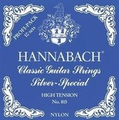 HANNABACH STRINGS FOR CLASSIC GUITAR SERIE 815 PROFESSIONAL PACK SILVER SPECIAL