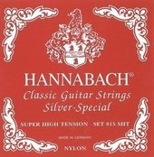 HANNABACH CORDES GUITARE CLASSIQUE SERIE 815 SUPER HIGH TENSION SILVER SPECIAL