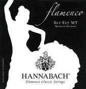 HANNABACH STRINGS FOR CLASSICAL GUITAR SERIES 827 MEDIUM TENSION FLAMENCO CLASSIC