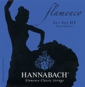 HANNABACH KLASSISEN KITARAN KIELET SERIE 827 HIGH TENSION FLAMENCO