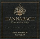HANNABACH STRINGS FOR CLASSIC GUITAR SERIES 728 MEDIUM TENSION CUSTOM MADE