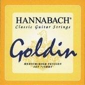 HANNABACH STRINGS FOR CLASSIC GUITAR SERIES 725 MEDIUM/HIGH TENSION GOLDIN