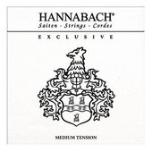 HANNABACH KLASSISEN KITARAN KIELET EXCLUSIVE SERIE MEDIUM TENSION