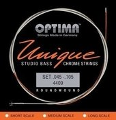 OPTIMA STRINGS FOR ELECTRIC BASS UNIQUE STUDIO CHROMIUM STRINGS