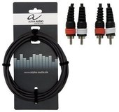GEWA BASIC LINE ALPHA AUDIO TWIN CABLE
