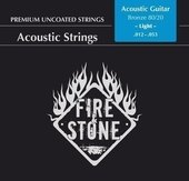 GEWA STRINGS FOR ACOUSTIC GUITAR FIRE&STONE 80/20 BRONZE