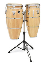 LATIN PERCUSSION SET CONGAS HIGHLINE