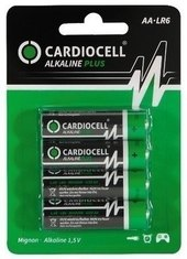 CARDIOCELL BATTERY ALKALINE PLUS