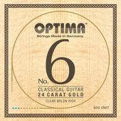 OPTIMA KLASSISEN KITARAN KIELET NO. 6 24 KARAT GOLD