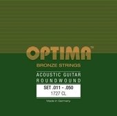 OPTIMA AKUSTISEN KITARAN KIELET BRONZE STRINGS